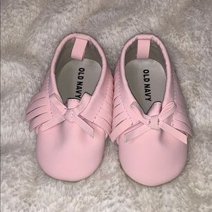 Size 6-12 months Pink Baby Shoes